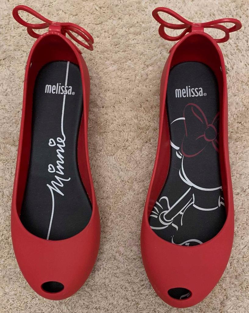 Buty damskie Melissa rozmiar 35 36 czerwone.