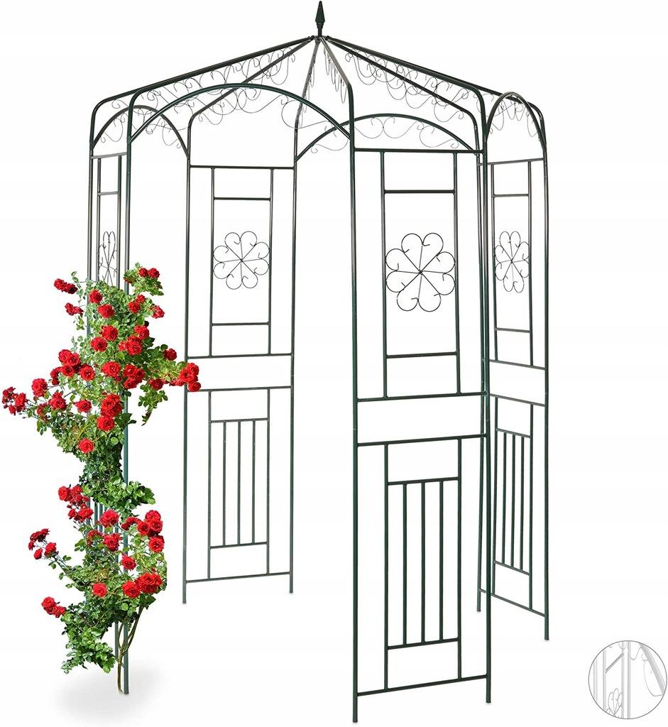 Pawilon ogrodowy dekoracyjny 250x160x160 Relaxdays