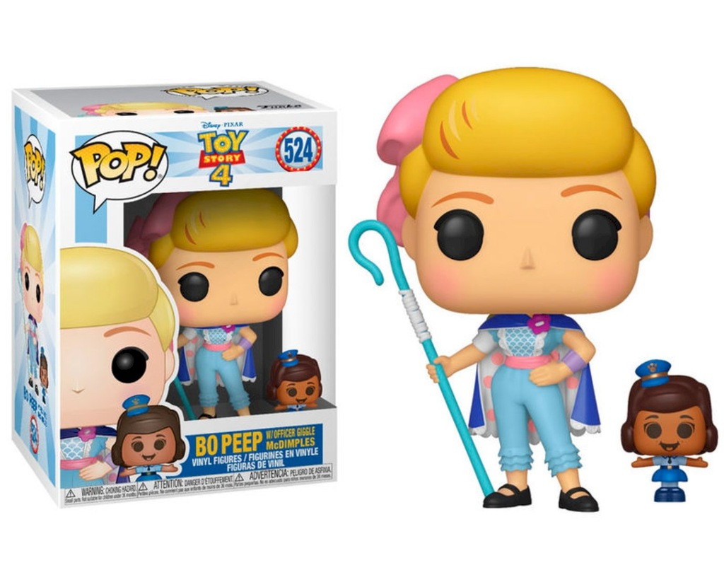 Funko POP Toy Story 4 Bo Peep Officer McDimples