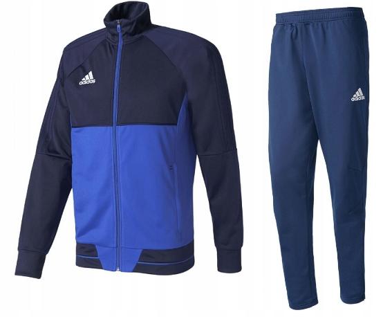 Dres Męski Spodnie Bluza Adidas Tiro17 Sportowy L