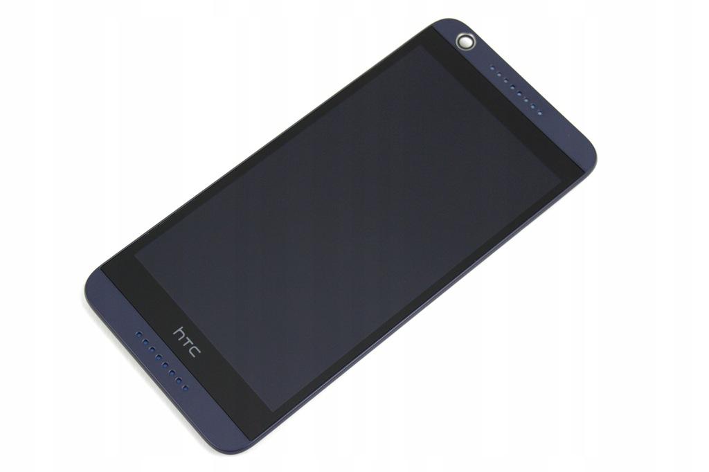 DESIRE HTC 626 EKRAN LCD + DIGITIZER + BLUE RAMKA