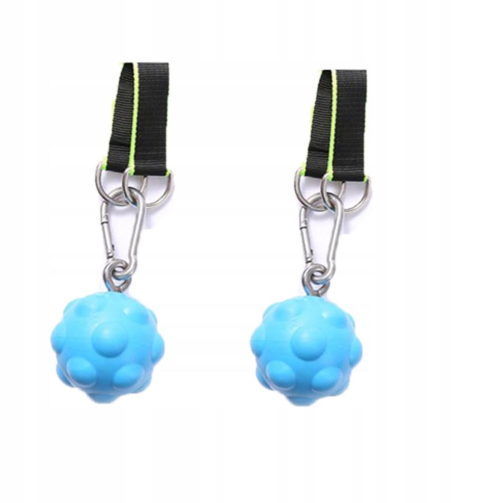Antypoślizgowa piłka do podciągania - niebieski