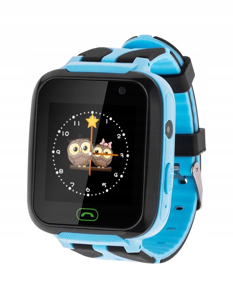 Zegarek dziecięcy Kruger&Matz SmartKid niebies