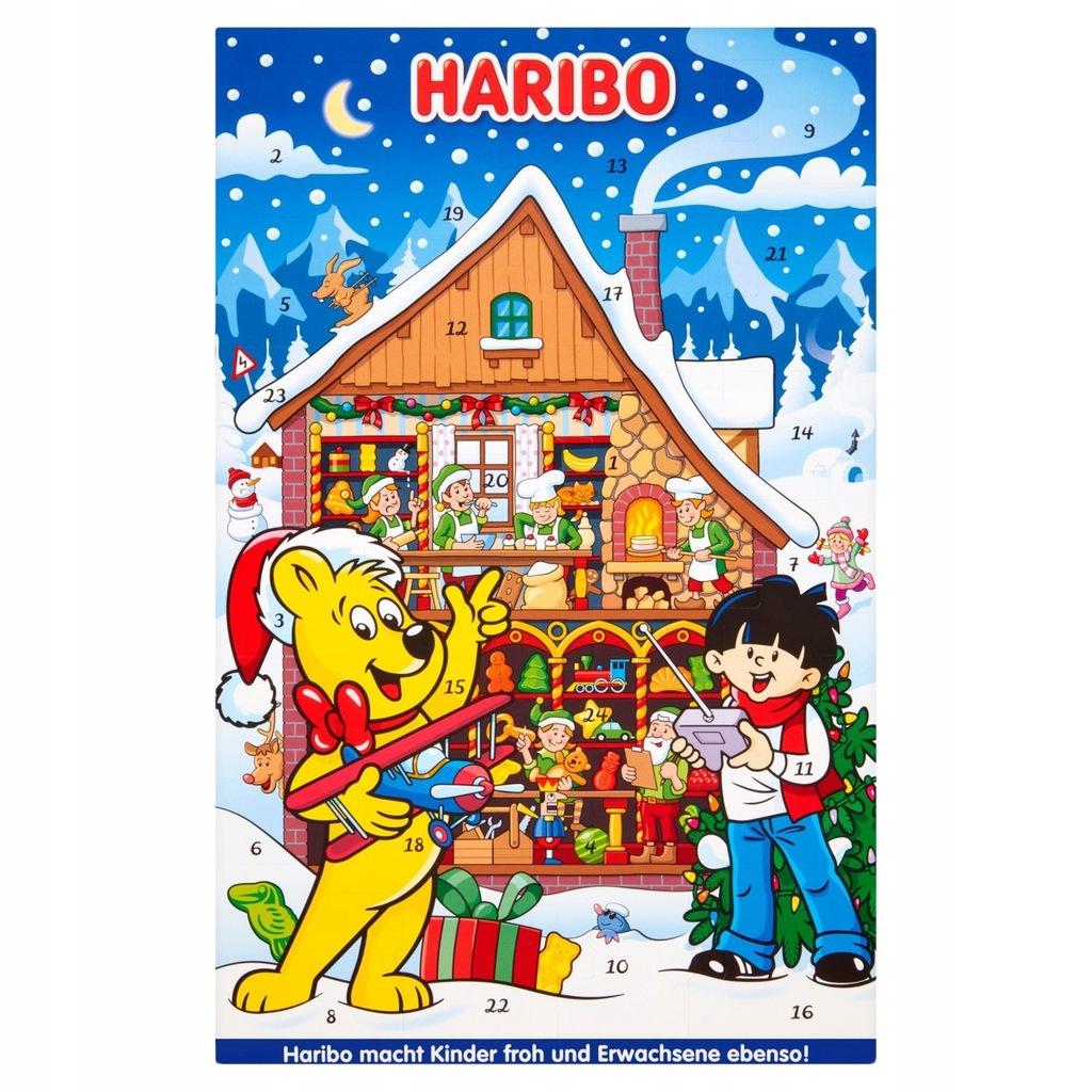 Haribo Kalendarz Adwentowy Duzy Xl 43 Cm Gratis 8610486733 Oficjalne Archiwum Allegro