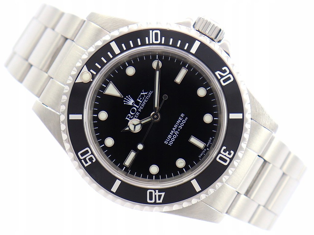 ROLEX OYSTER PERPETUAL SUBMARINER STAL REF: 14060M