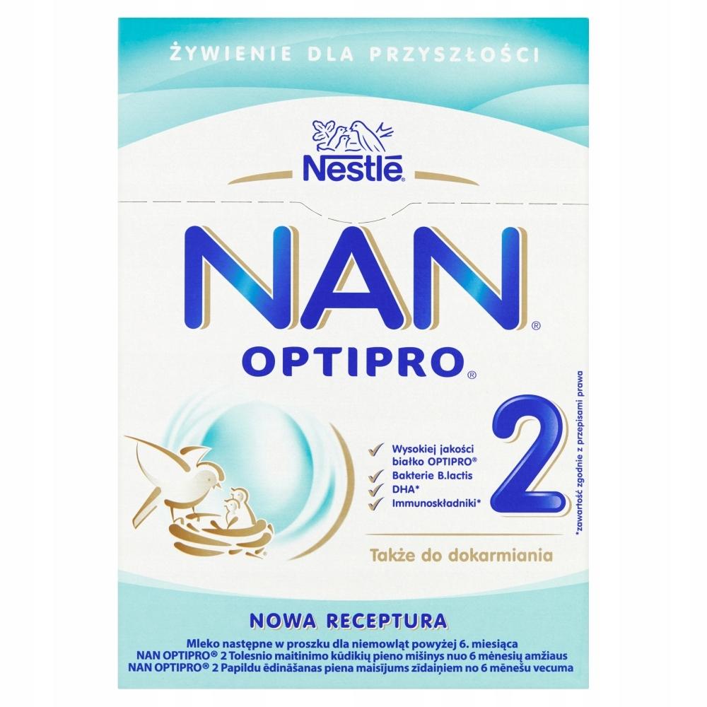 NESTLE NAN OPTIPRO 2 mleko następne 800 g