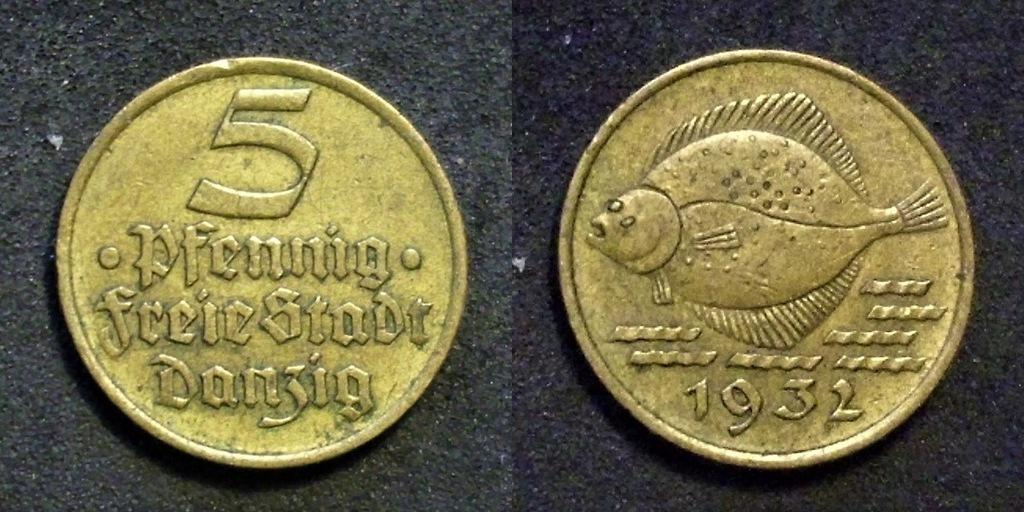 WMG 5 fenigów 1932
