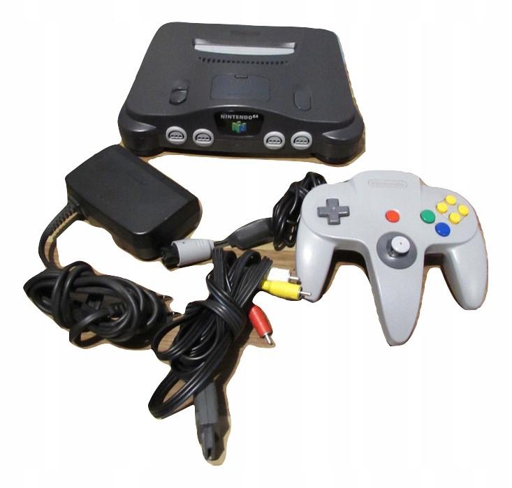 Konsola Nintendo 64 n64 ładna