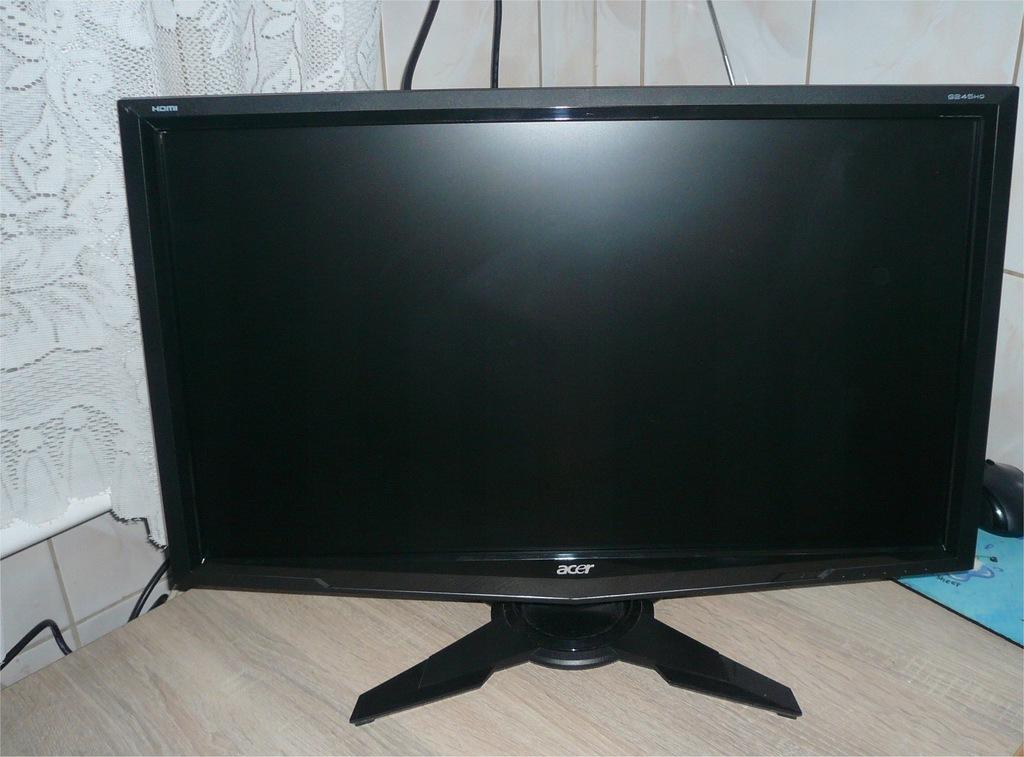 Monitor Acer G245HG 24c hdmi