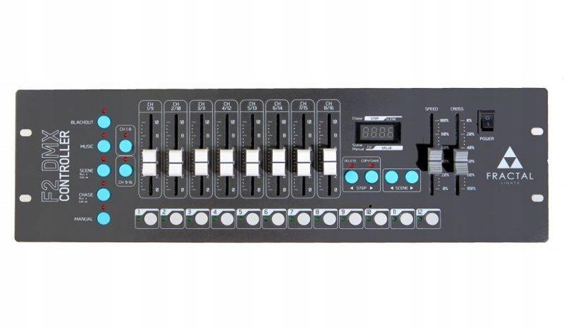 Fractal FX2 kontroler DMX