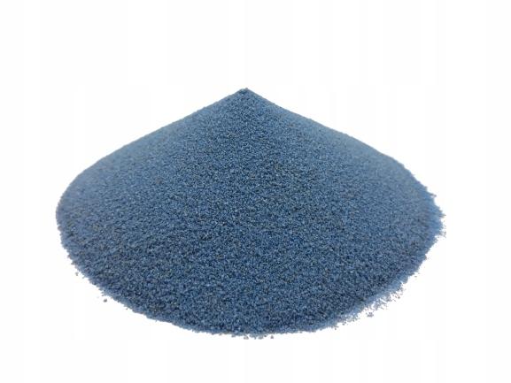 Piasek dekoracyjny niebieski 5kg