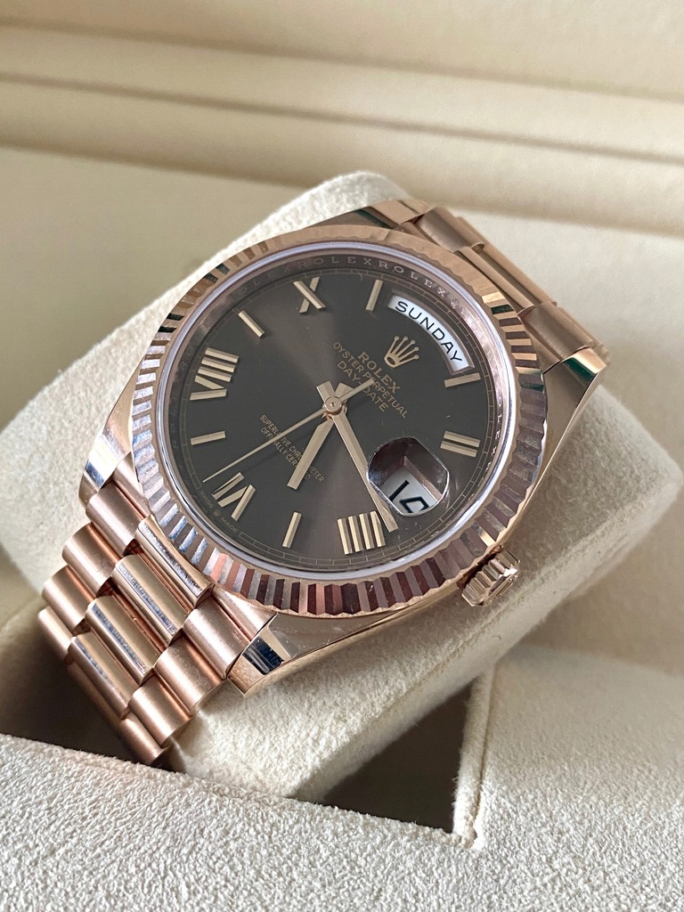 Rolex Rolex Day-Date 40 mm komplet 2019