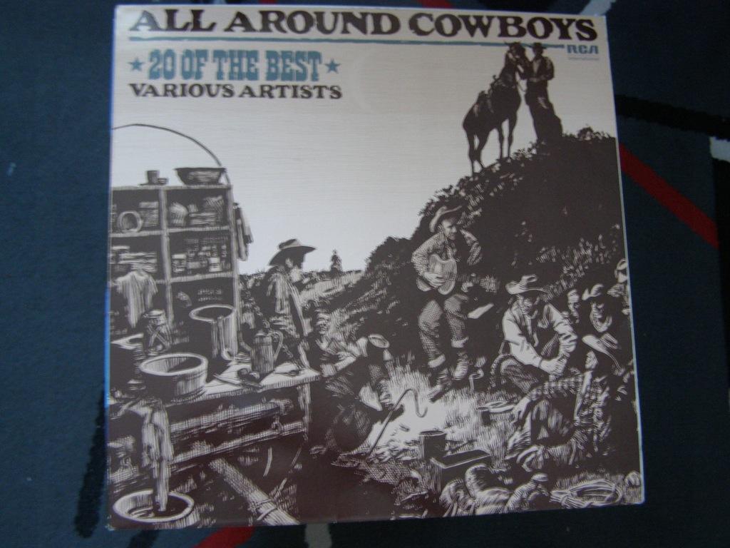 All Around Cowboys UK 82 EX+/NMINT-!!