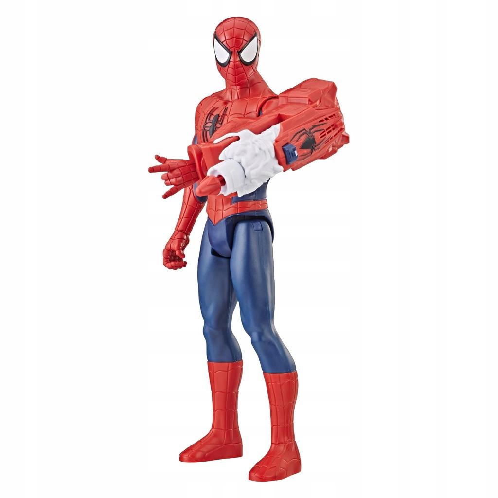 Spider-Man Titan duża figurka FX z Wyrzutnią E3552