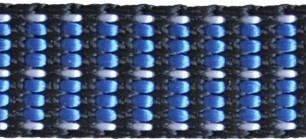 Kpl. smycz/obroża N Happet SN44 niebieski 2.5cm