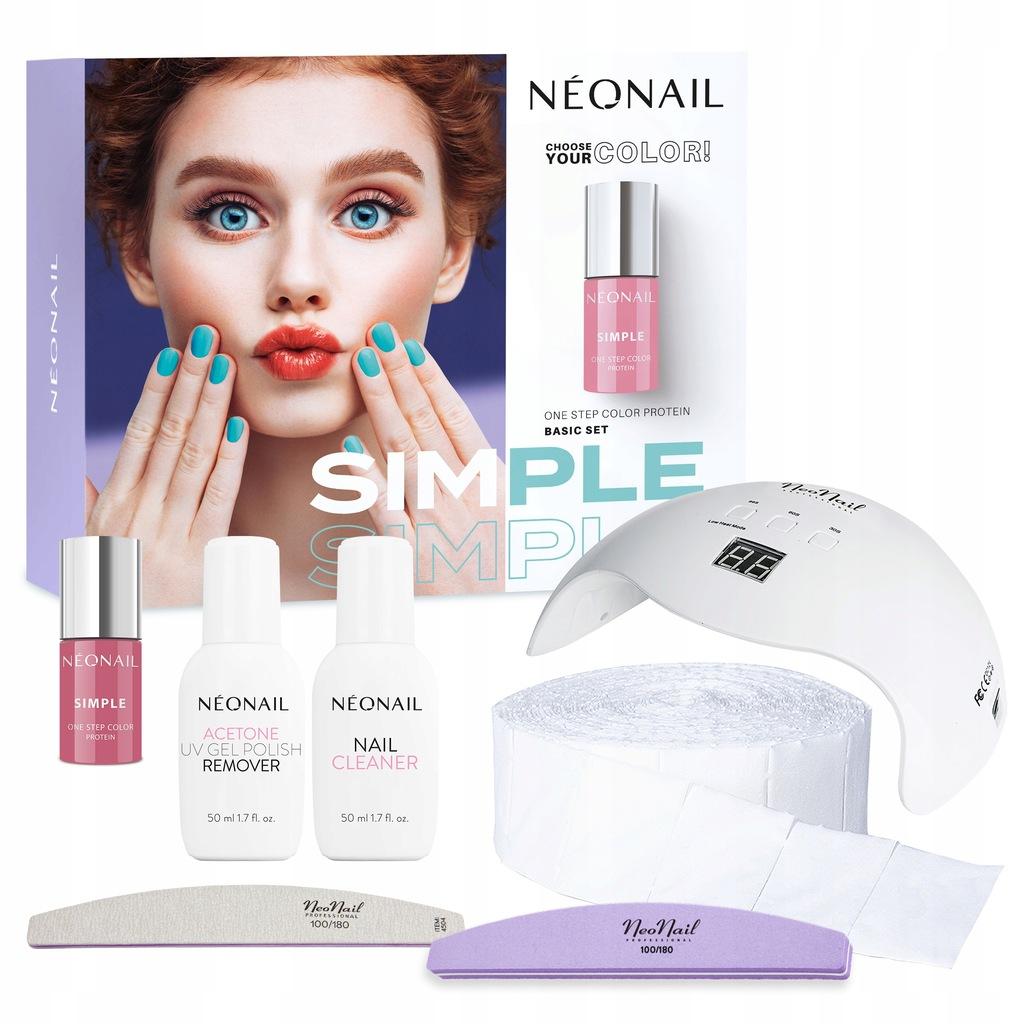 NEONAIL trwały zestaw startowy SIMPLE 3w1
