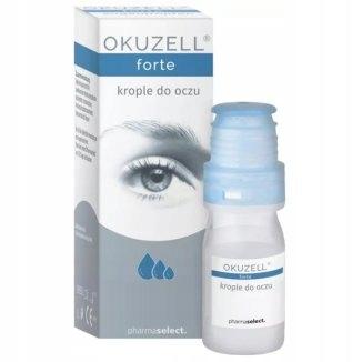 Okuzell Forte, krople do oczu, 10 ml