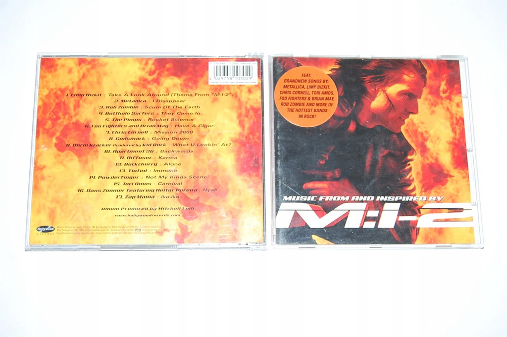 MISSION: IMPOSSIBLE 2 / SOUNDTRACK