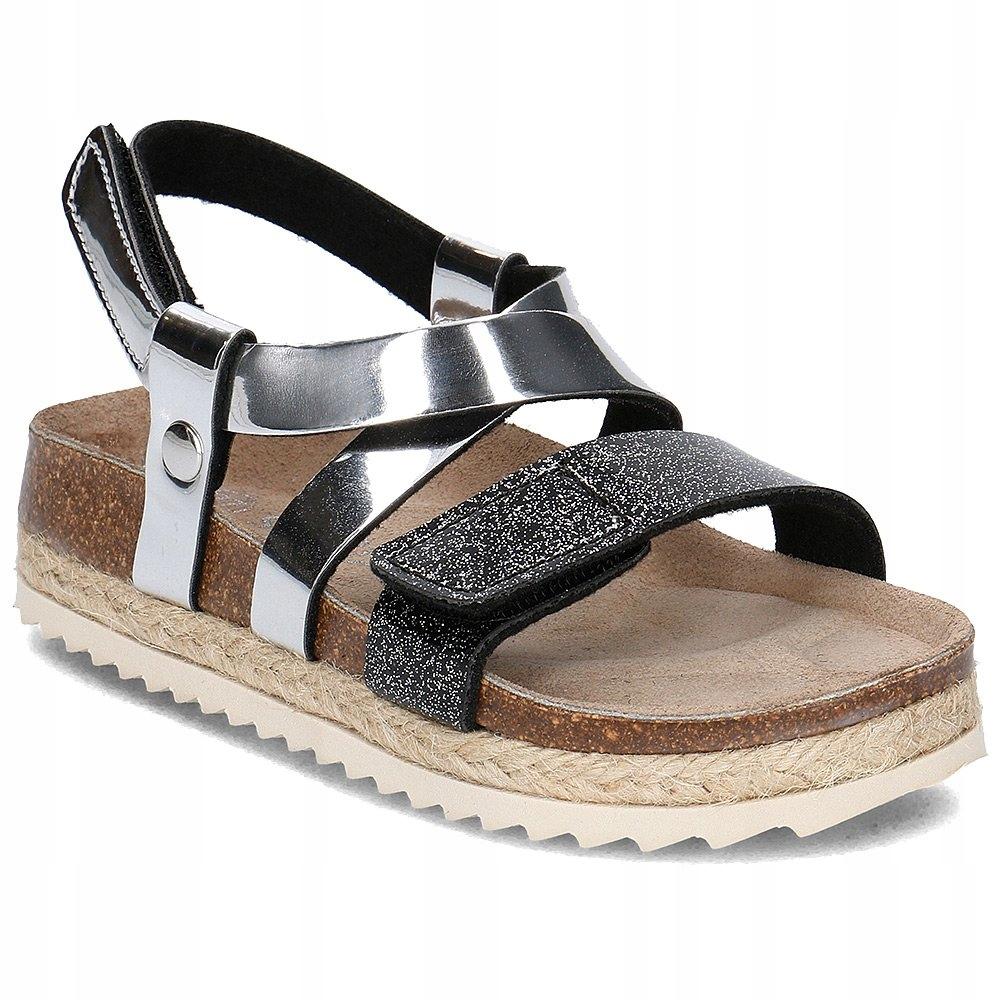 Sandałki Superfit 0-00123-17 SILBER r35
