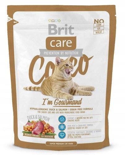 Brit Care Cat New Cocco I'm Gourmand Duck & Sa