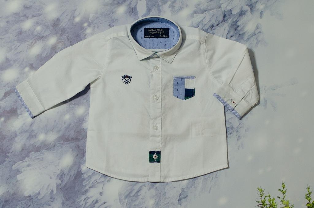 Koszula biała MAYORAL rozm 68 - OUTLET