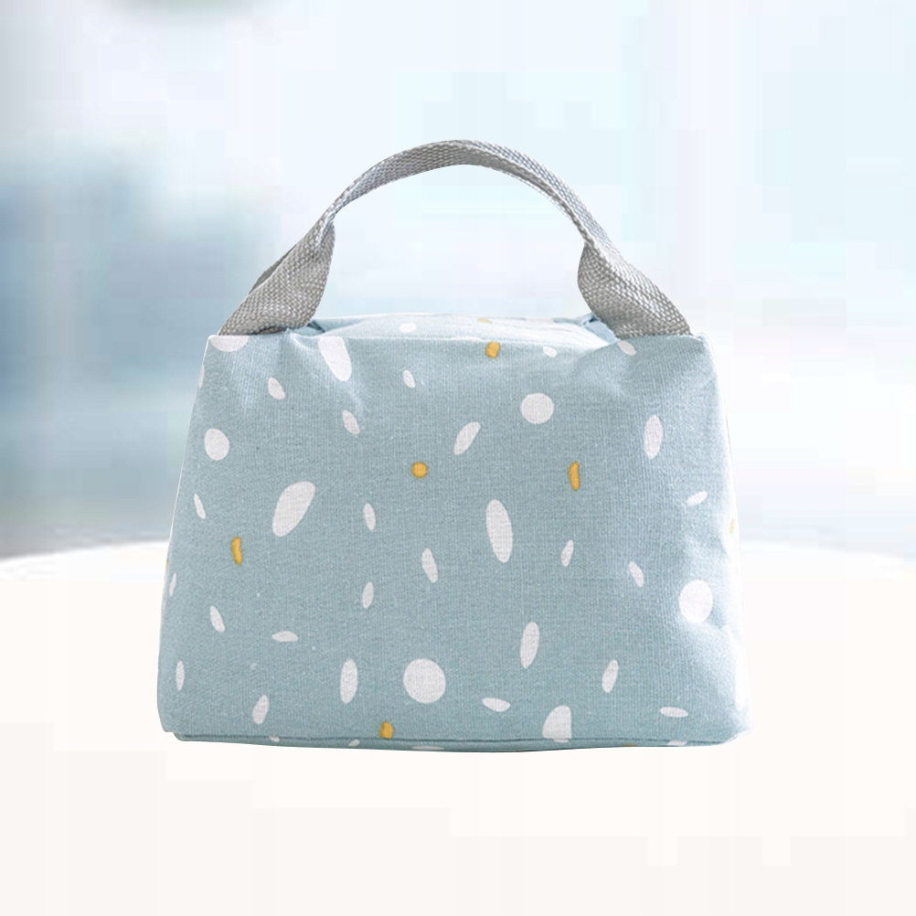 Simple Style Lunch Tote Bag Insulation Lunch Handy