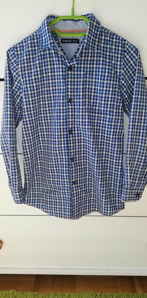 Reserved koszula świeta krata 128