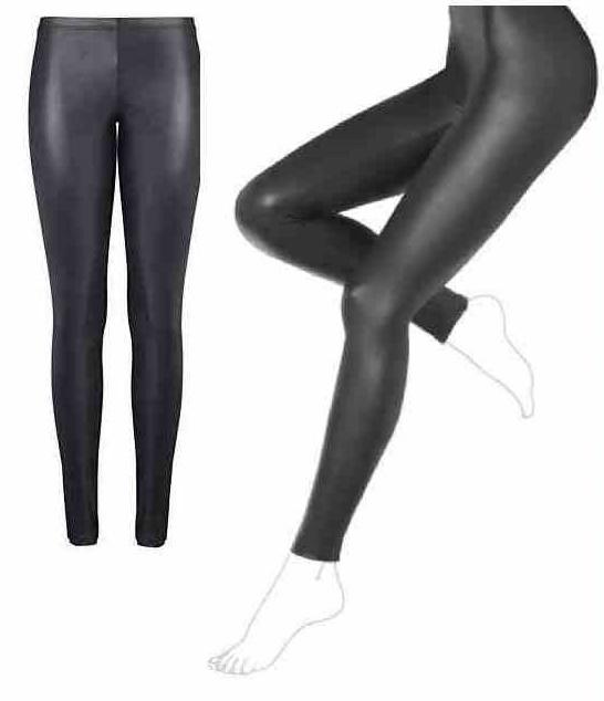 Legginsy spodnie CALZEDONIA M - 38 imitacja skóry