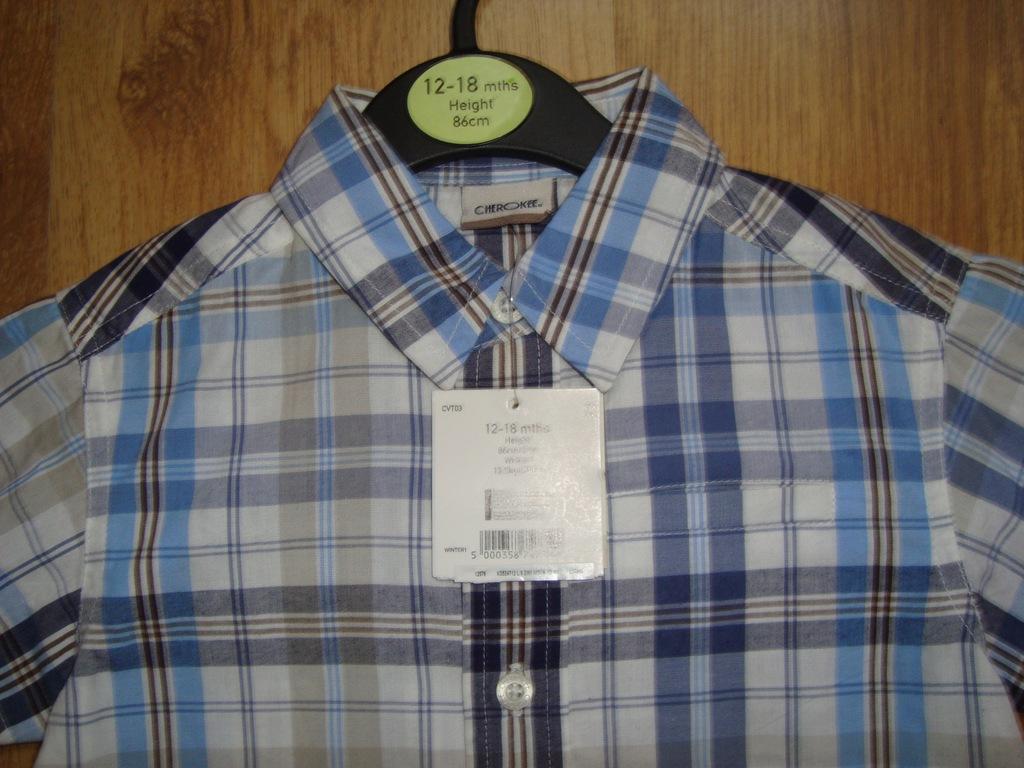 Cherokee Modna koszula chłopiec 12 - 18 mies 86