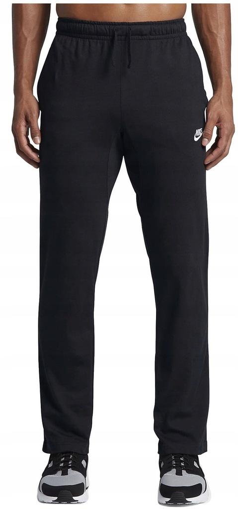 Spodnie Męskie NIKE Bawełniane PROSTE DRES M