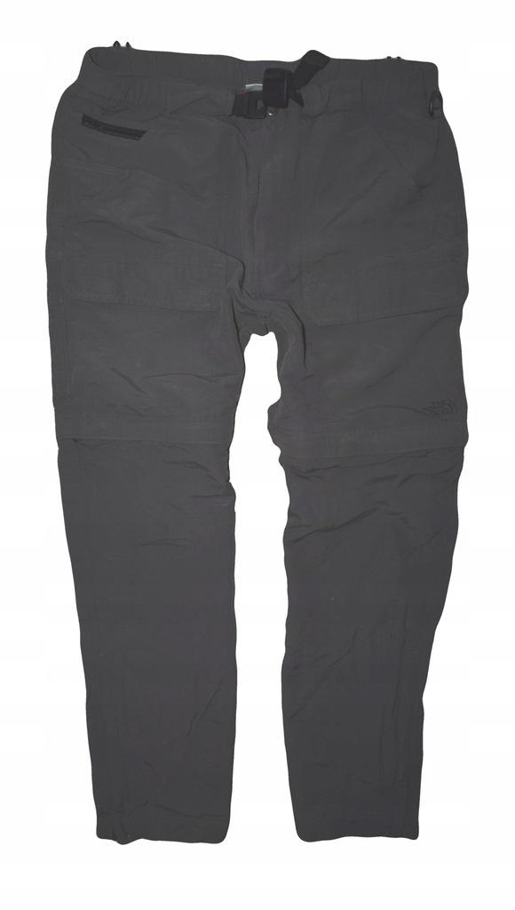The North Face spodnie outdoor odpinane nogawki