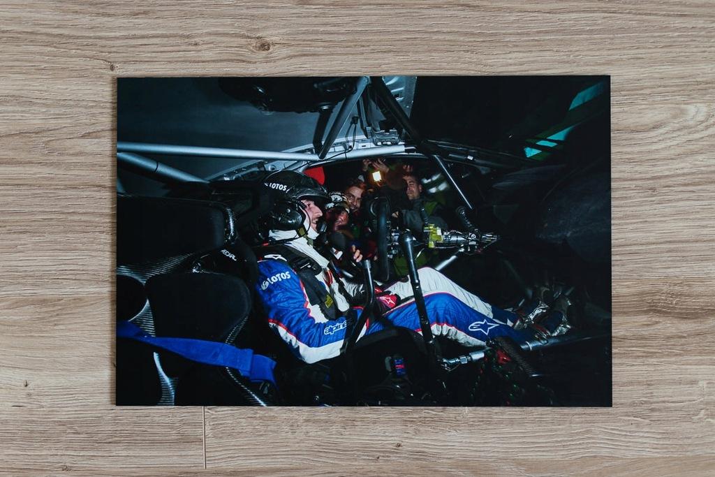 Fotoobraz Robert Kubica - Janner Rallye 2014