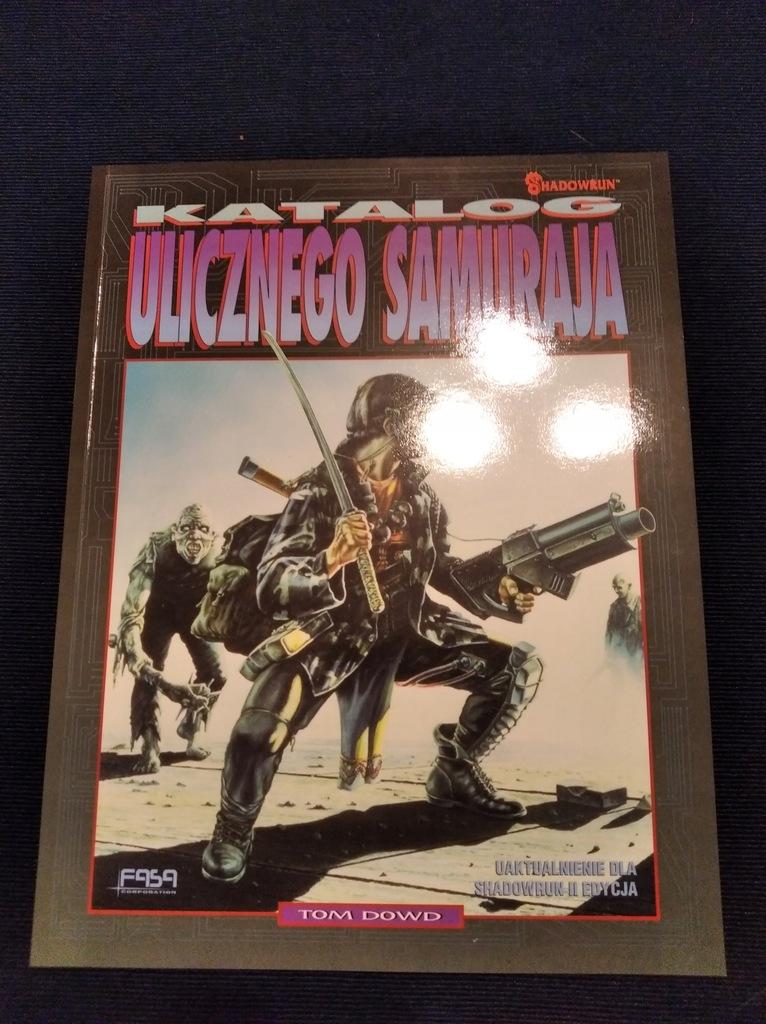 Shadowrun: Katalog Ulicznego Samuraja stan idealny