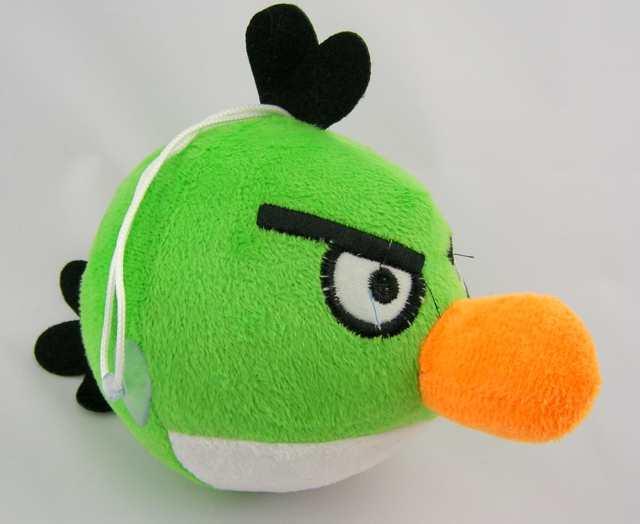 nowa 15cm MASKOTKA ANGRY BIRDS pluszak zielon ptak
