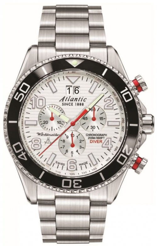Zegarek Atlantic 55475.47.25S WORLDMASTER DIVER CH