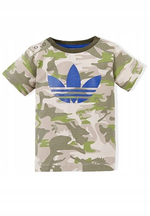 Dziecięcy T Shirt Adidas M63387 Moro Trefoil