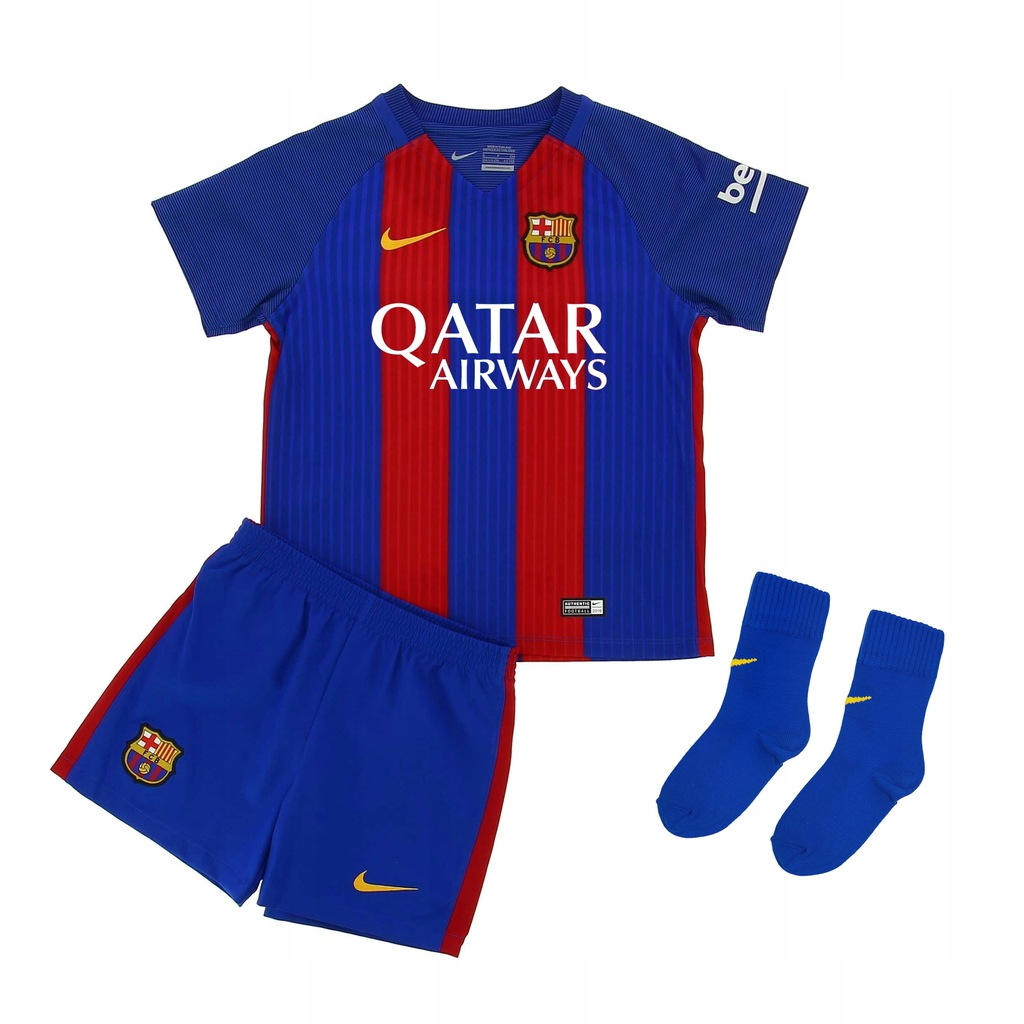 KOMPLET Barcelona Away Nike Baby Kit 85-90 cm NO1