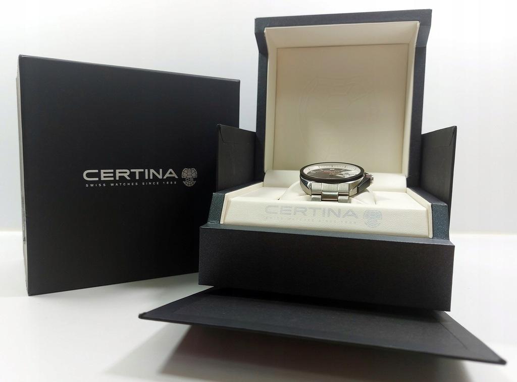 Przepiękny zegarek Certina