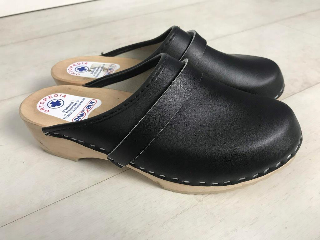 DAN BUT drewniaki buty ortopedyczne 40 26 cm