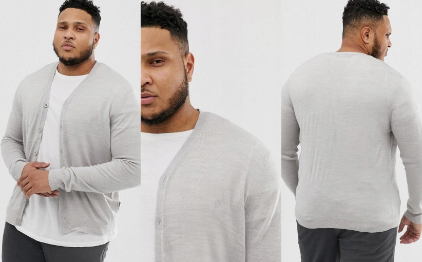 T2R306*FRENCH CONNECTION SWETER KARDIGAN 2XL P00