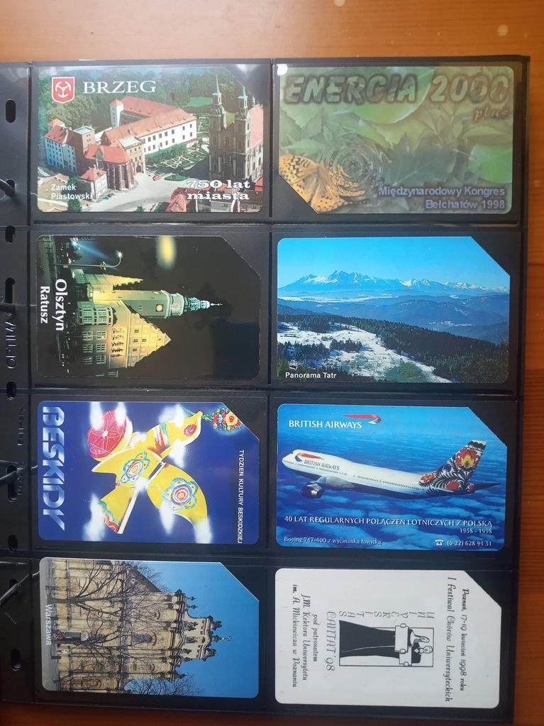 Karty telefoniczne POLSKA x 60 (zestaw nr 3)