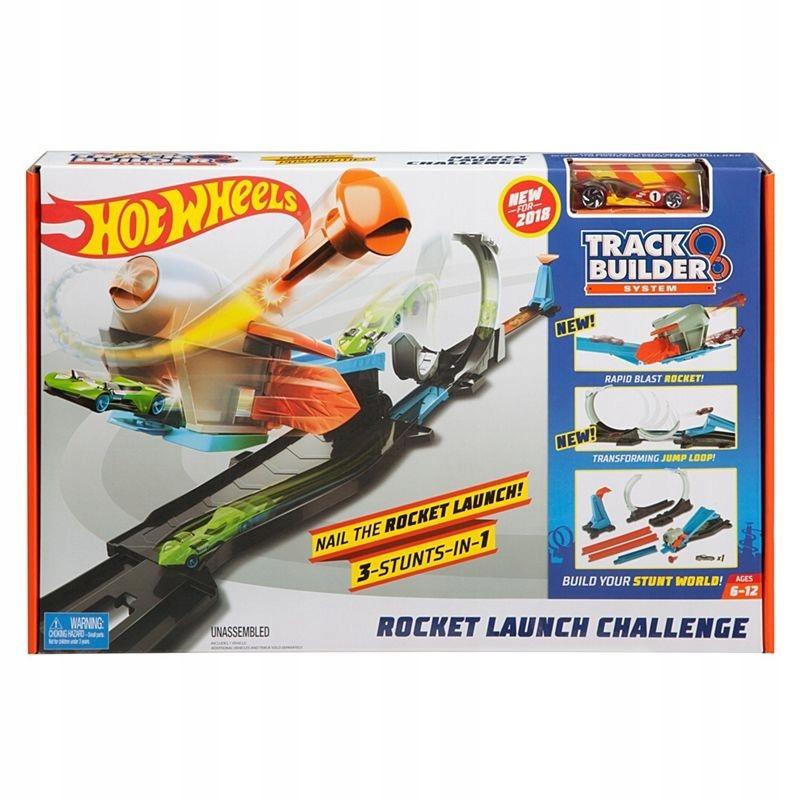 Hot Wheels. FLK60 Zestaw wyrzutnia rakiet