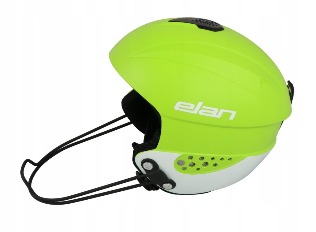 ELAN kask narciarski RC RACE 55-58 +osłona szczęki
