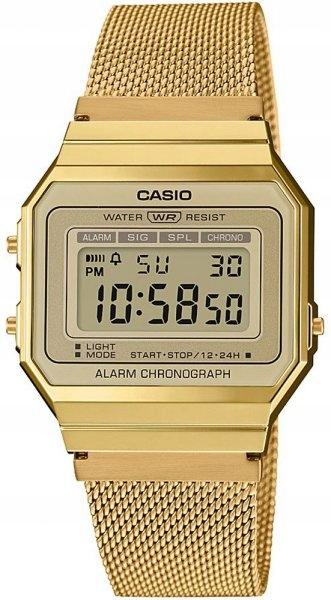 CASIO Zegarek młodzieżowy A700WEMG-9AEF RETRO