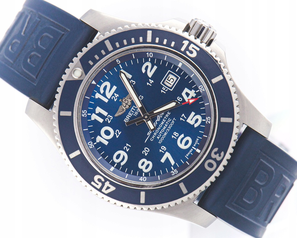 BREITLING SUPEROCEAN AUTOMATIC REF.A17392 FULL SET