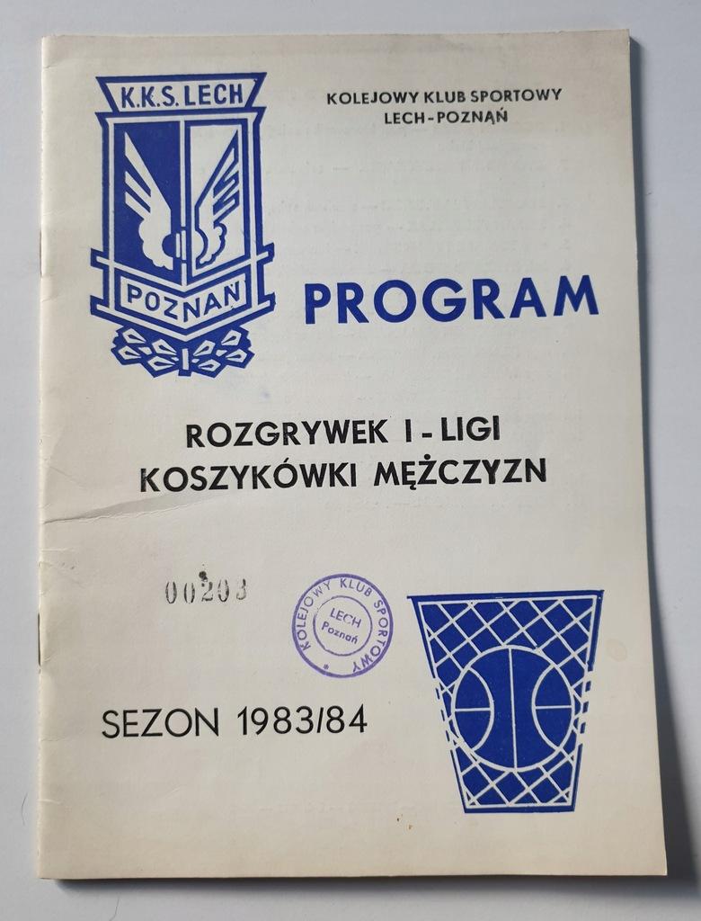 PROGRAM KKS LECH O M.P. W KOSZYKÓWCE 1983/1984