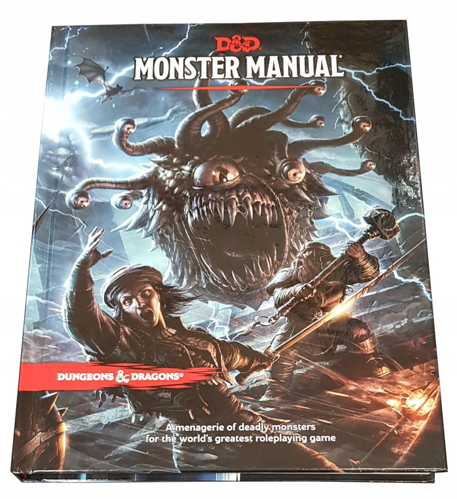 Dungeons&Dragons 5.0 Monster Manual ENG STREFA