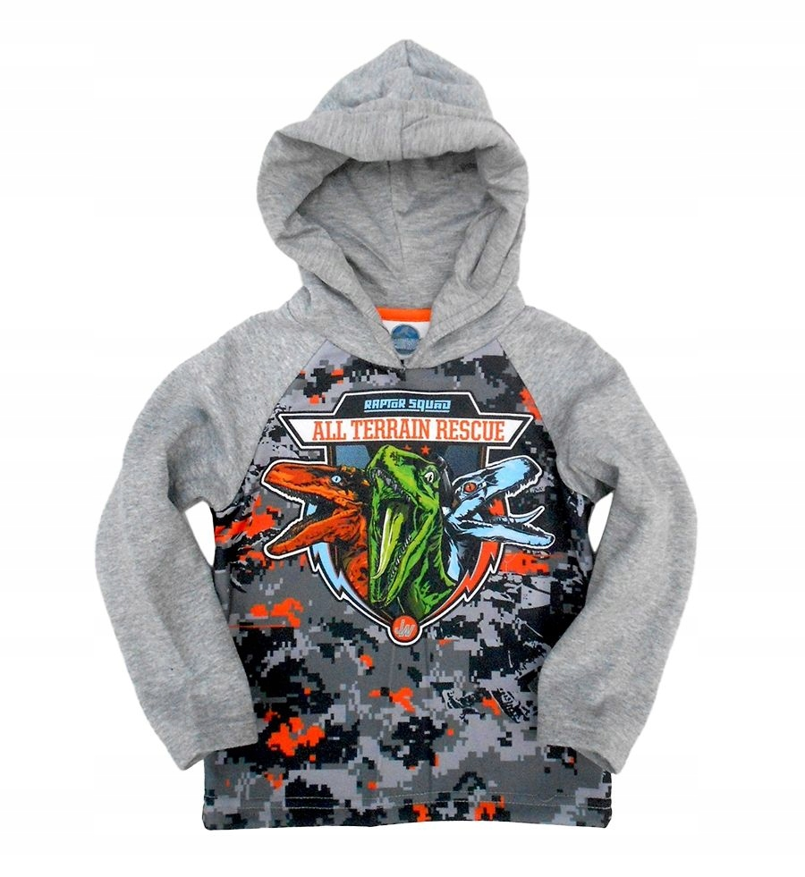 Bluza z kapturem Jurassic World 122 cm