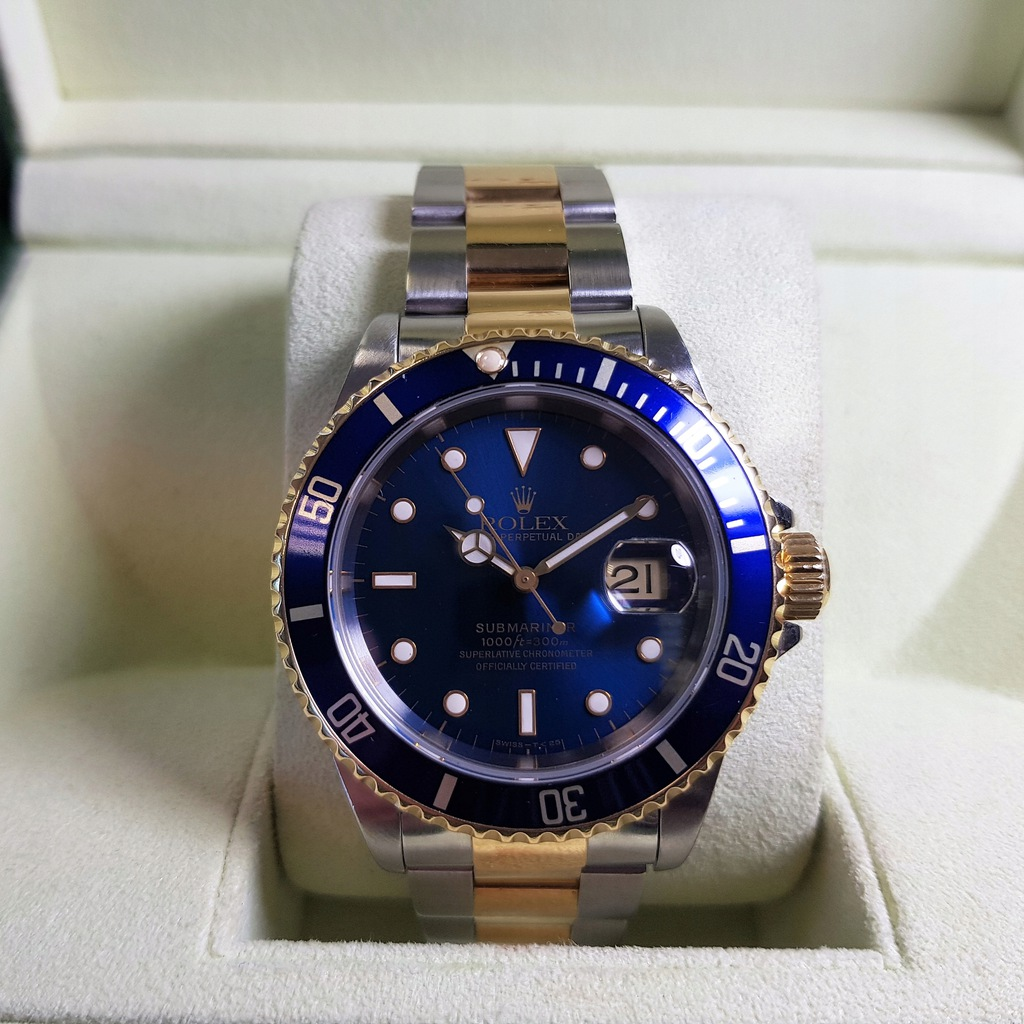 Rolex Oyster Perpetual Submariner Date 16613 2Tone
