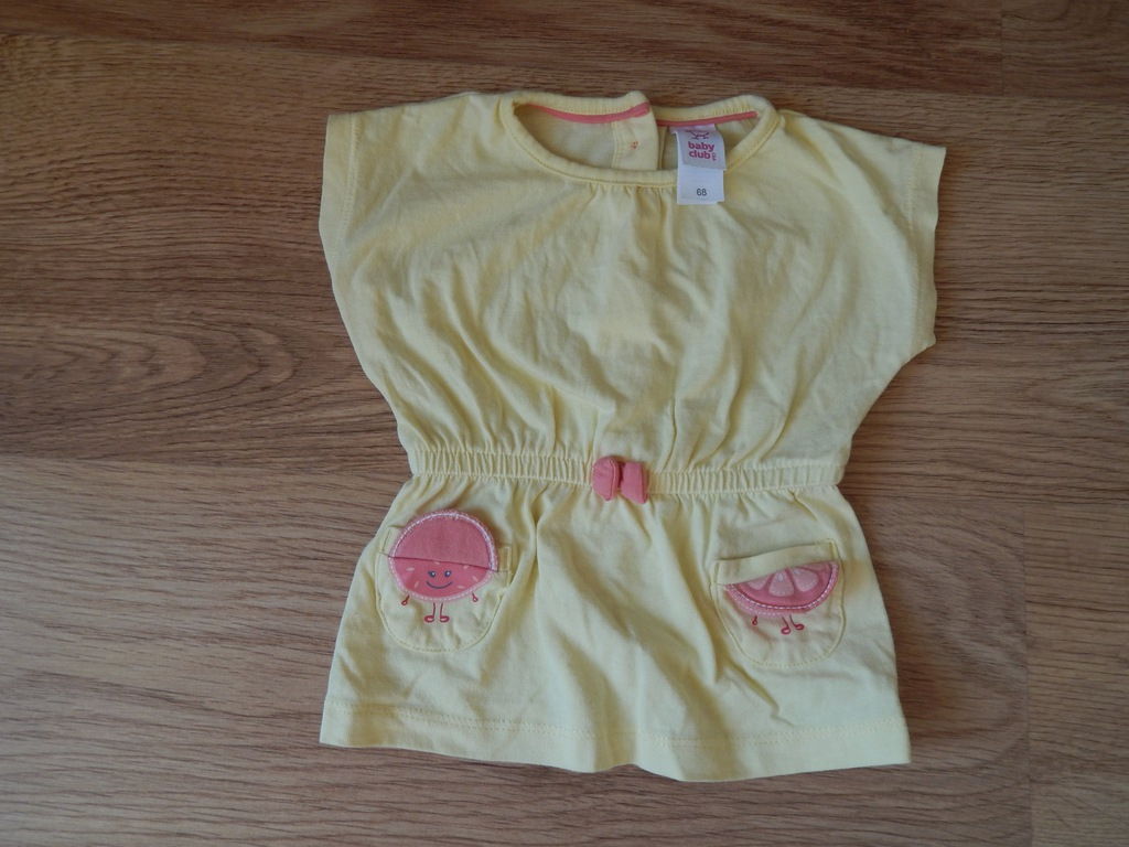 Bluzko sukienka niemowlęca